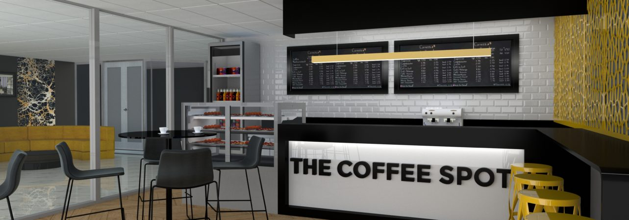 Charlie G Designs  3D Coffee Bar Render Design Proposal in Johannesburg South Africa